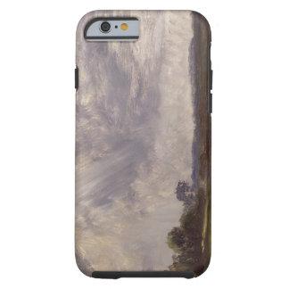 Gestalten Sie mit grauem windigem Himmel, Tough iPhone 6 Hülle