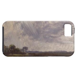 Gestalten Sie mit grauem windigem Himmel, Hülle Fürs iPhone 5