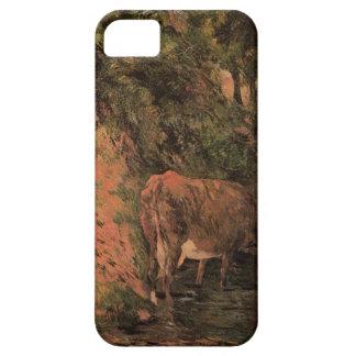 Gestalten Sie mit Kühen in einem Obstgarten durch iPhone 5 Schutzhüllen