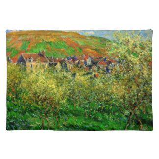 """Gestalten Sie Tischsets Claudes Monet 20"""" x 14"""""""