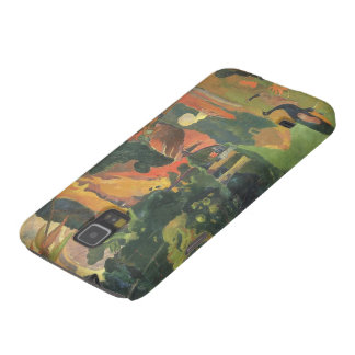 Gestalten Sie w-Pfaus durch Gauguin, Vintage feine Galaxy S5 Hüllen