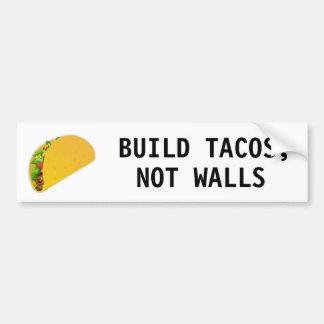 GestaltTacos, nicht Wände Autoaufkleber
