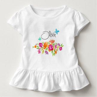 Gestaltung Blumen Olivia Kleinkind T-shirt