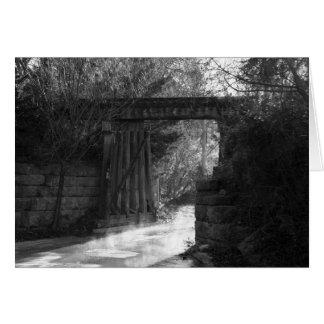 Gestell-Brücke Karte