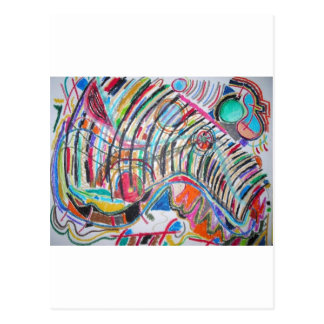 Gestell der Kunst Postkarten