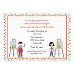 Gestell-Künstler-Einladungen