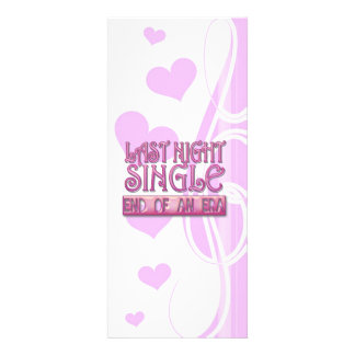 gestern Abend Single bachelorette Hochzeits-Party Personalisierte Einladungskarten