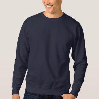 Gestickte Eulen Besticktes Sweatshirt