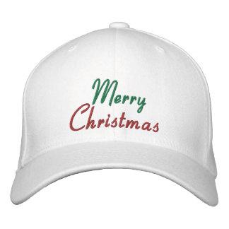 Gestickte frohe Weihnacht-Kappe Bestickte Mützen