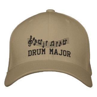 Gestickte Kappe Tambourmajor-Band