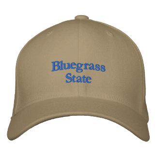 Gestickte Kentucky-Staats-Kappe Bestickte Baseballkappe