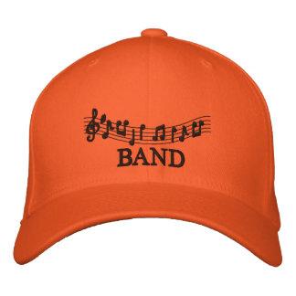Gestickte Musik-Band-Kappe Baseballcap