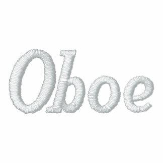 Gestickte Oboe Musik-Jacke Bestickte Freizeitjacken