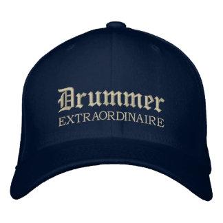 Gestickte Schlagzeuger-Extraordinaire Musik-Kappe Bestickte Mütze