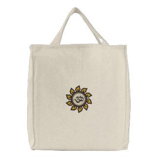 Gestickte Tasche Yoga-OM Symbol