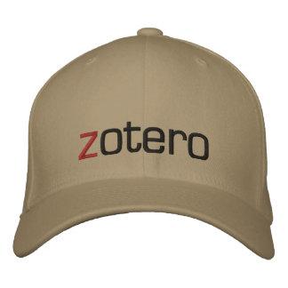 Gestickte Zotero Kappe
