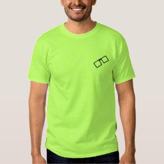 Gestickter Geek-T - Shirt