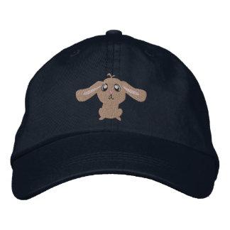 Gestickter Hut Browns Kaninchen Bestickte Kappe