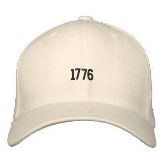 Gestickter Hut der amerikanischen Revolutions-1776 Baseballmütze