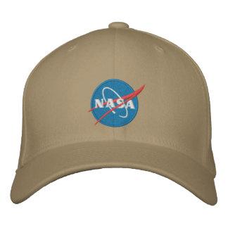 Gestickter Hut der NASAs Logo