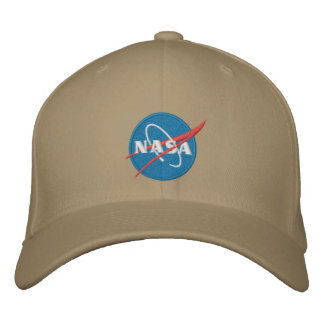 Gestickter Hut der NASAs Logo Bestickte Baseballmützen