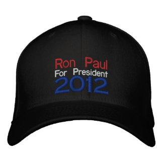 Gestickter Hut Ron Pauls 2012