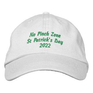 Gestickter Hut St. Patricks Tag
