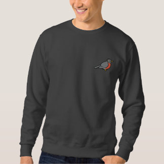 Gestickter niedlicher Amerikaner Robin Sweatshirt