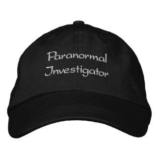 Gestickter Paranormal Forscher-Hut Bestickte Baseballkappe