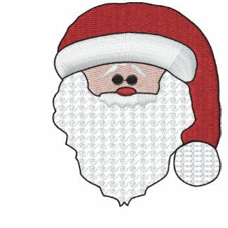 Gestickter Weihnachtsmann-Damen-T - Shirt