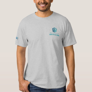 Gesticktes nordwestliches Crew-Shirt Besticktes T-Shirt