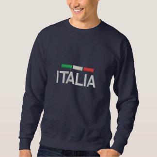 Gesticktes Sweatshirt Italiens Italien