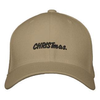 Gesticktes Weihnachten Bestickte Mütze