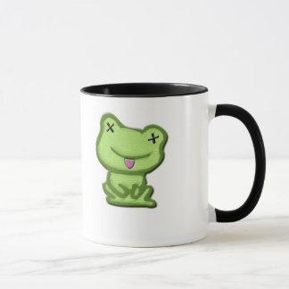 Gestorbener Frosch Tasse