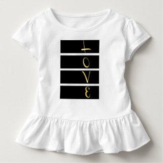 Gestreifte Liebe Kleinkind T-shirt