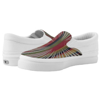 Gestreifte Turbulenz Slip-On Sneaker