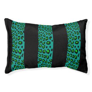 Gestreifter Leopard-Druck (kundengerechte Farben) Haustierbett