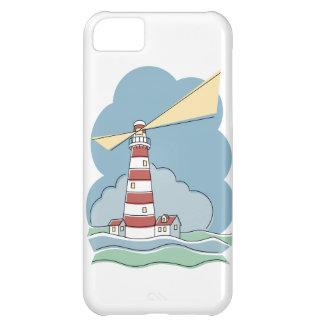 Gestreifter Leuchtturm iPhone 5C Hülle