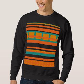 Gestreiftes aztekisches Sweatshirt