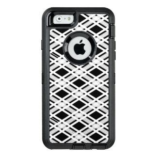 Gestreiftes kariertes Muster OtterBox iPhone 6/6s Hülle