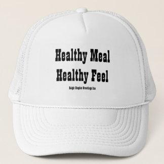 Gesunde Mahlzeit Truckerkappe