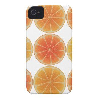 Gesunde orange Scheibe iPhone 4 Hüllen