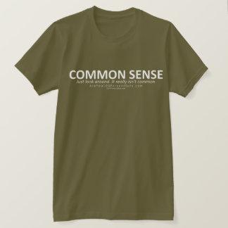 Gesunder Menschenverstand (für dunkles BG) T-Shirt