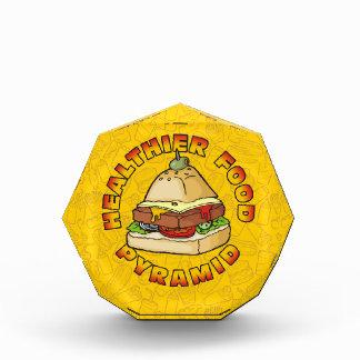 Gesündere Ernährungspyramide Auszeichnung