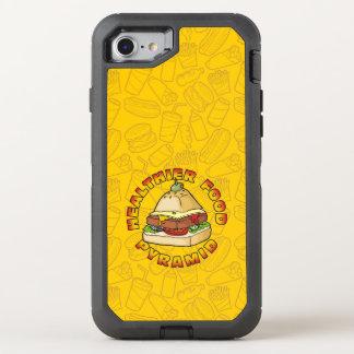Gesündere Ernährungspyramide OtterBox Defender iPhone 8/7 Hülle