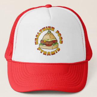 Gesündere Ernährungspyramide Truckerkappe