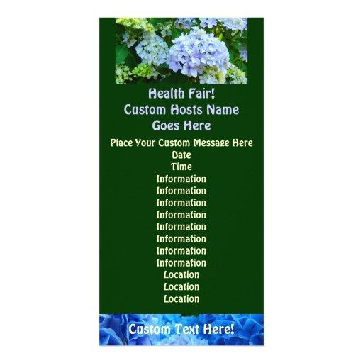 Gesundheit angemessen! Kundenspezifisches Ereignis Photokarten