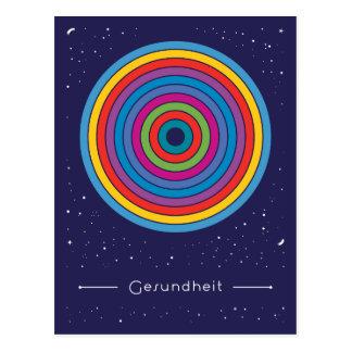 Gesundheit Postkarte