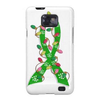 Gesundheits-Bewusstseins-Weihnachtslicht-Band Samsung Galaxy S2 Cover