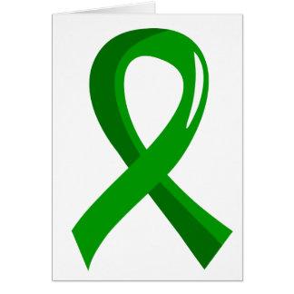 Gesundheits-grünes Band 3 Karten